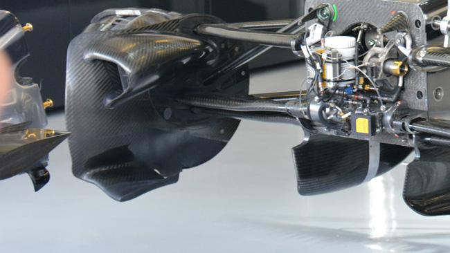 McLaren: c'è anche la brake duct anteriore nuova