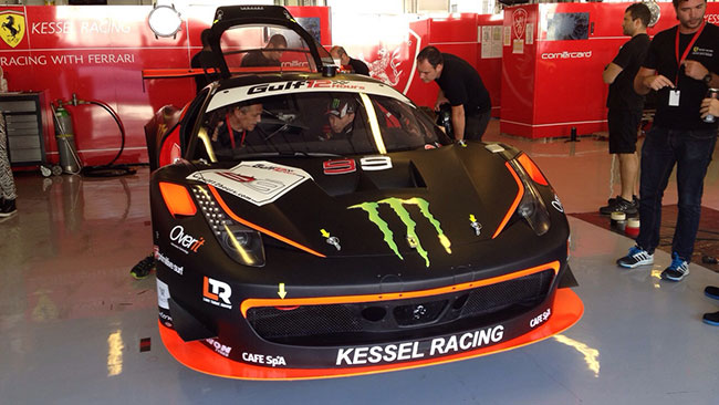 Ecco la Ferrari di Jorge Lorenzo per Abu Dhabi
