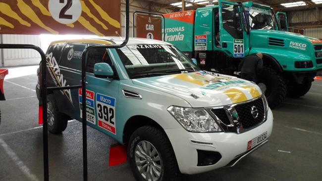 La Tecnosport alla Dakar con la Nissan Patrol Y62