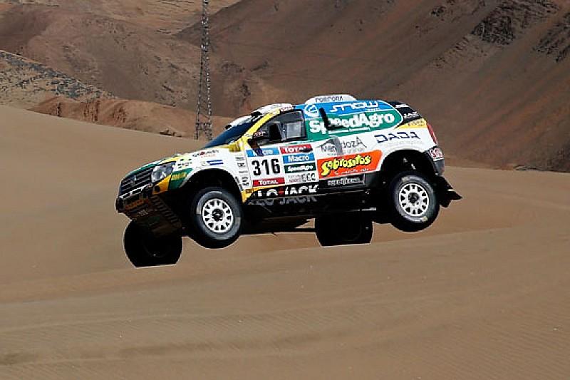 Dakar 2015: la Renault Duster ha toccato i 200 km/h!