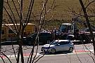 Botto di Alonso all'uscita della curva 3: c'è l'ambulanza!