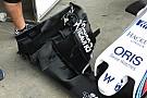 Williams: cambiata l'ala anteriore sulla FW37
