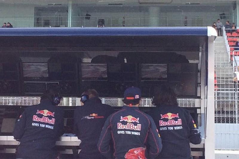 Un problema di motore ha fermato la Toro Rosso