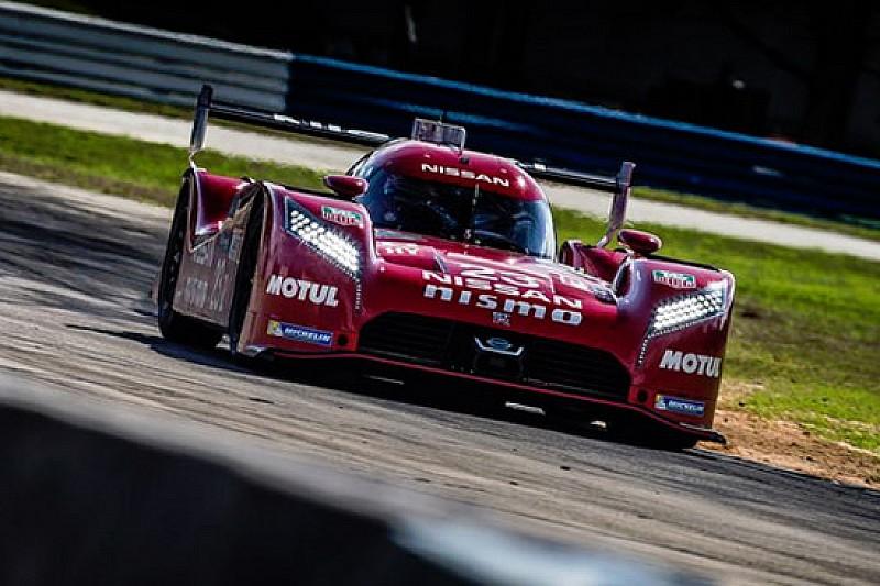 Un guasto interrompe i test della Nissan a Sebring