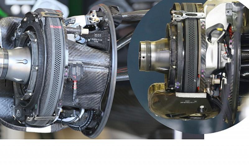 McLaren: ci sono i mozzi forati anche nel posteriore!