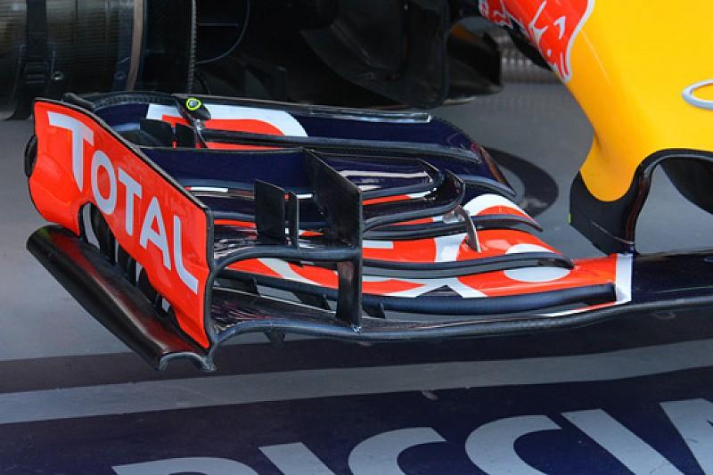 Red Bull: rotta una scocca nell'ultimo crash test