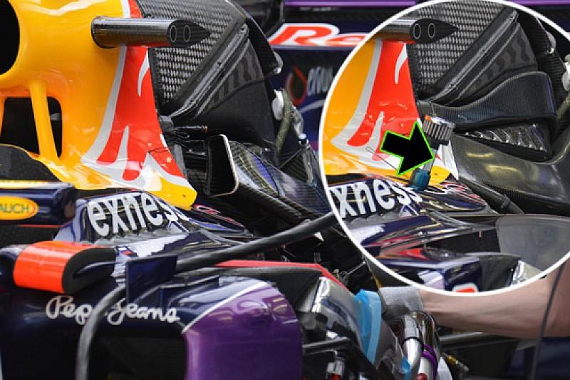 Red Bull: come si raffredda il radiatore del cambio