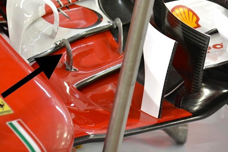 Ferrari: si è rotto anche il sostegno di un flap