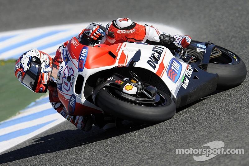 EL1 – Andrea Dovizioso voit déjà rouge