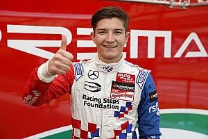 F3-Euro Reporte de calificación Dennis logra la pole en el último momento