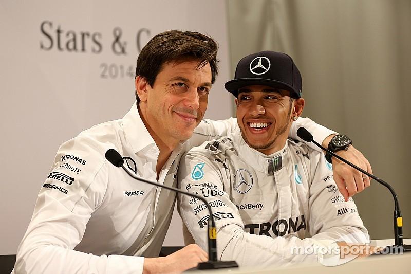 Officiel - Mercedes et Hamilton s'engagent jusqu'en 2018