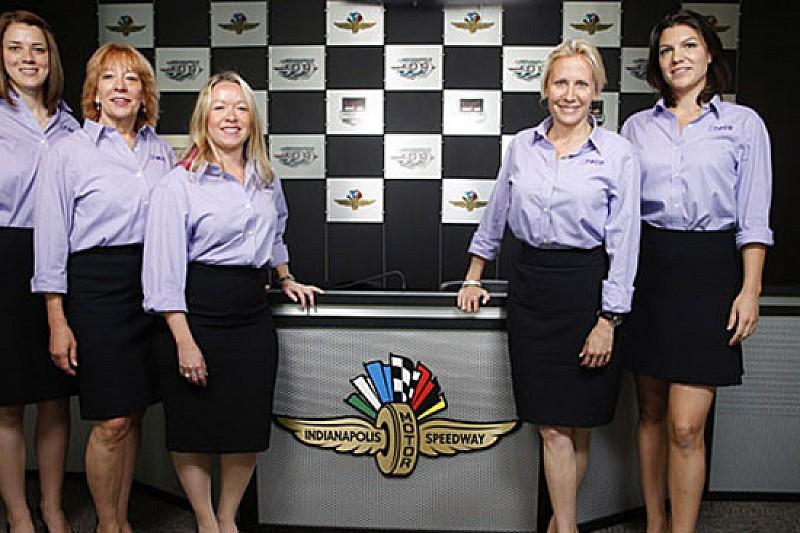 Un team tutto femminile a Indianapolis nel 2016