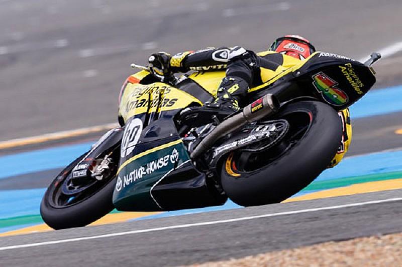 Rins beffa Lowes e si prende la prima pole in Moto2