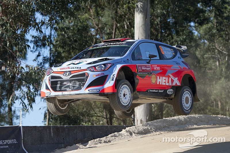 Promising start for Hyundai Motorsport at all-new Rally de Portugal