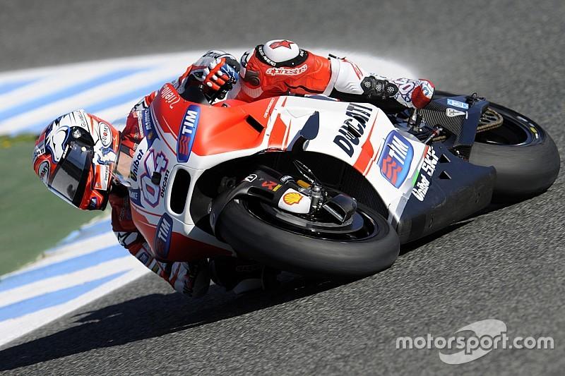 Dovizioso sets early Mugello pace for Ducati