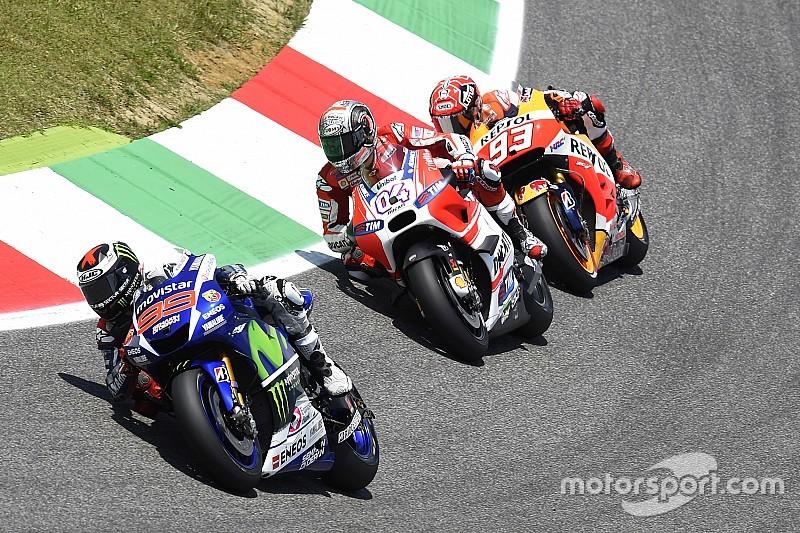 Участники MotoGP приступили к тестам новых шин