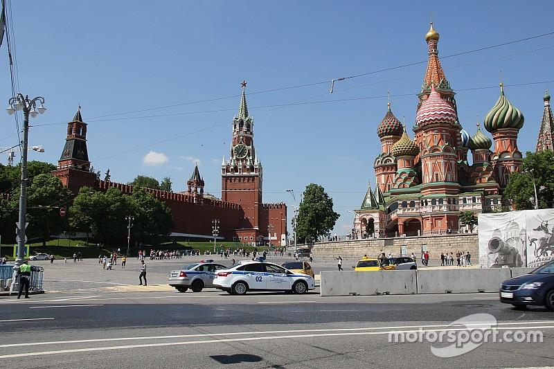 Пилоты Формулы Е прибывают в Москву