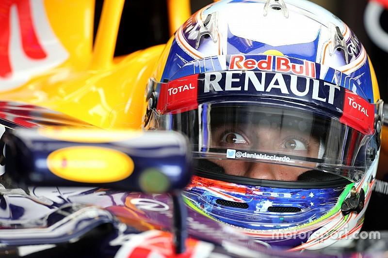 Ricciardo frustrado por su desempeño