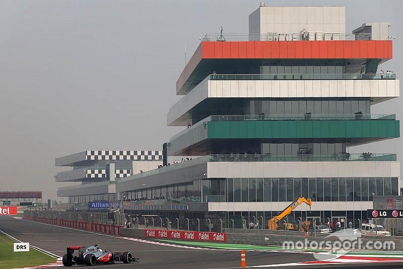 Situation complexe pour le Grand Prix d'Inde