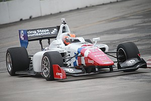 Indy Lights Race report Double podium finish for Jack Harvey on the streets of Toronto