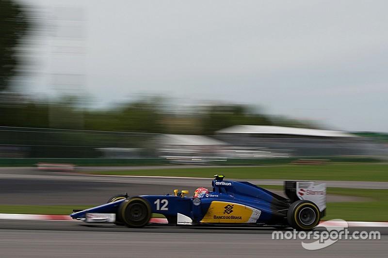 Nasr struggling after Sauber changes brake disc supplier