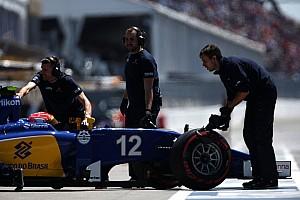 Formule 1 Actualités Nasr en difficulté avec ses freins