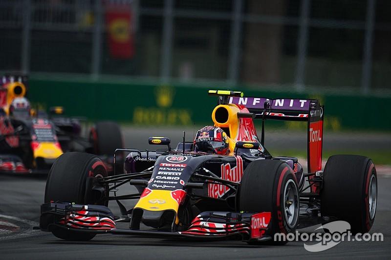 Ricciardo y Kvyat, con nuevos motores en Austria