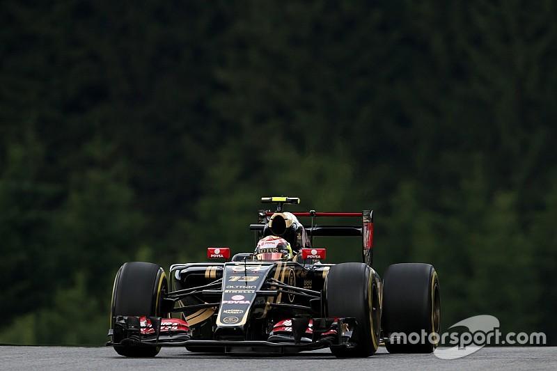 Lotus pose les bases d'un week-end solide en Autriche