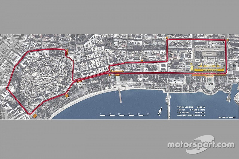 Bakou se prépare à accueillir la F1