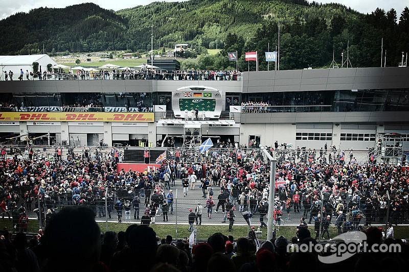Na Mercedes, todas as atenções vão para os fãs