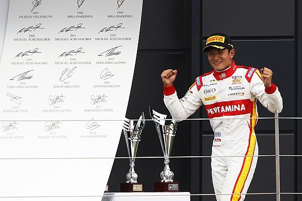 Haryanto logra su tercera victoria sprint en GP2