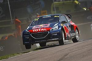 World Rallycross Reporte de la carrera Hansen despojado de la victoria
