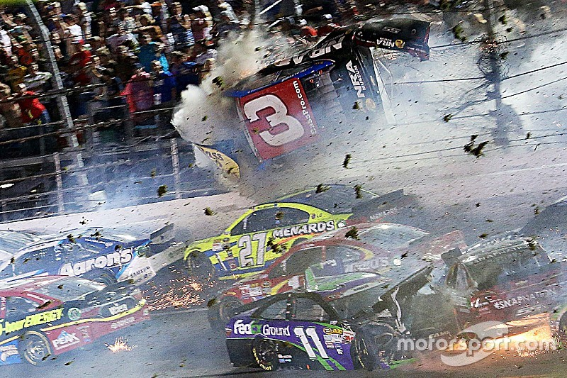 """Austin Dillon: """"It's like Talladega Nights out there"""""""
