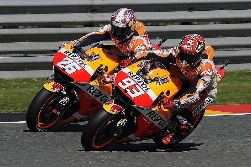 Marquez and Pedrosa to sample 2016 Honda