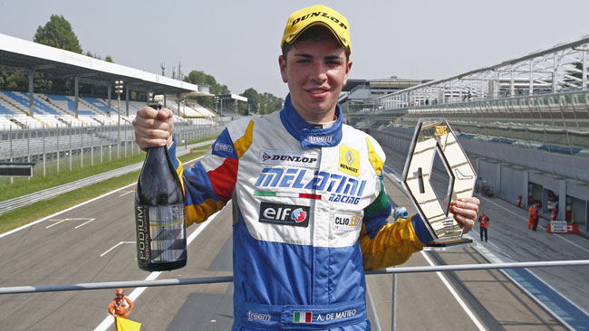 Primo centro per Alfredo De Matteo in gara 1 a Monza