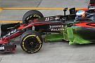La McLaren ne combina di tutti i... colori
