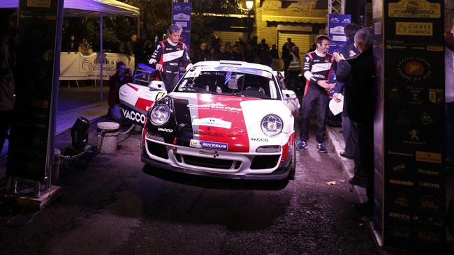 Ad Ypres quattro Porsche 911 GT3 in azione
