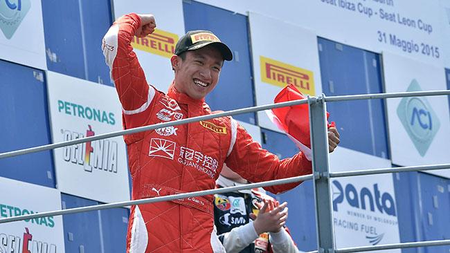 Gara 1 di Monza tra le mani di Yu Zhou