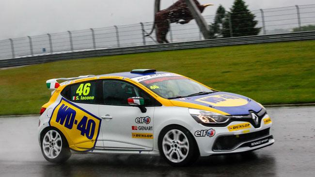 Iacone in pole sotto alla pioggia del Red Bull Ring