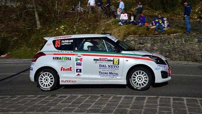 Suzuki Rally Cup: cinque equipaggi al via in Salento
