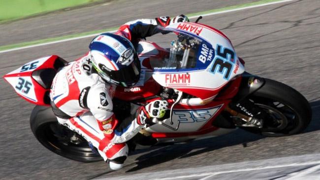 Due giorni di test a Vallelunga per l'Althea Racing