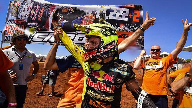 Tony Cairoli campione del mondo per l'ottava volta!