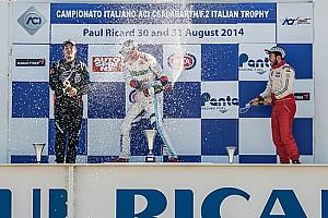 Formula Abarth - Italia Ultime notizie Sesto centro di Piero Longhi in gara 1 in Francia