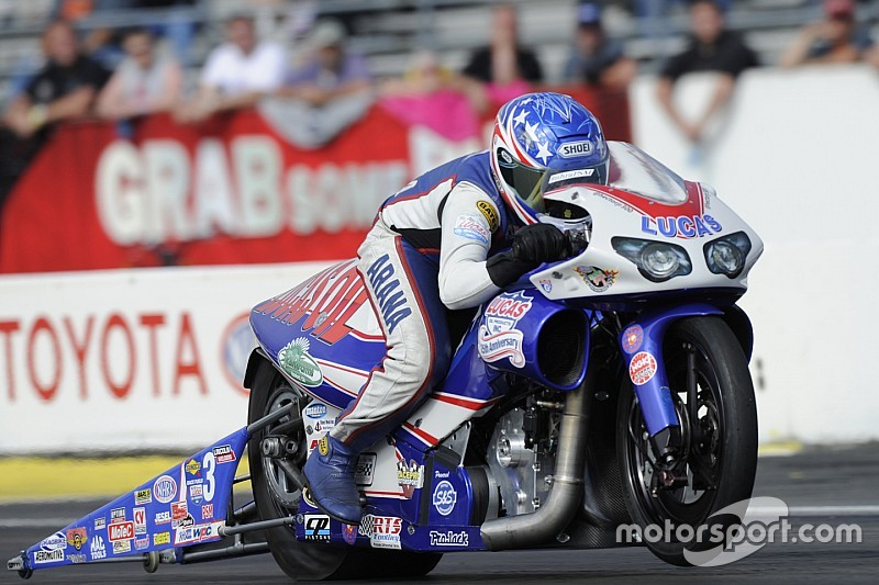 Hector Arana Jr. ready to build on recent victory in Pro Stock Motorcycle