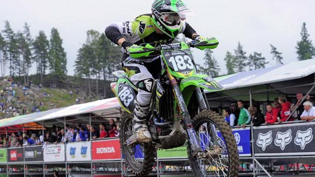 Frossard porta la Kawasaki alla vittoria in Svezia!