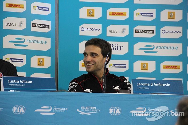 Д'Амброзио продолжит выступать за Dragon Racing