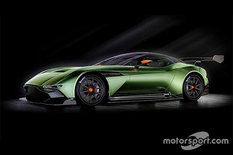 L'Aston Martin Vulcan en démonstration aux 24 Heures de Spa