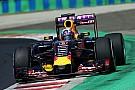 EL2 Hongrie - Le moteur Renault de Ricciardo part en fumée