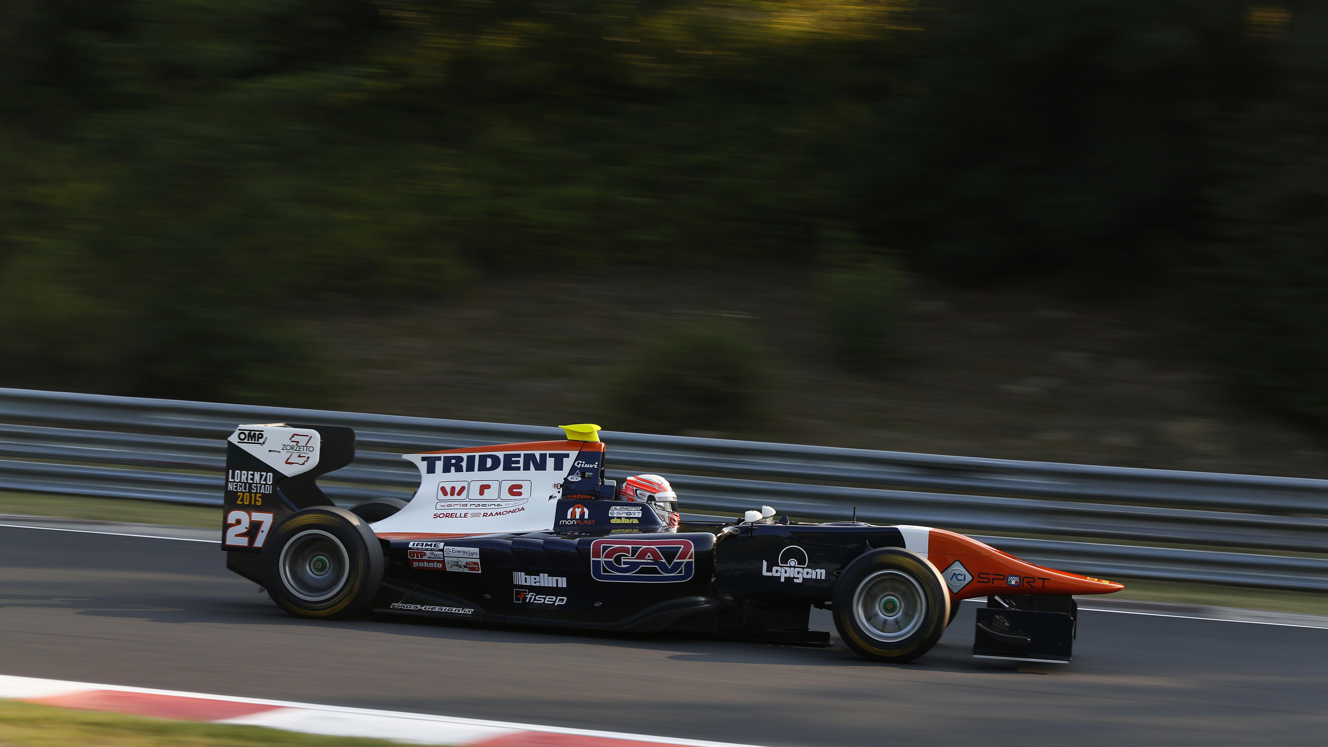 Fantastica pole position per Luca Ghiotto a Budapest