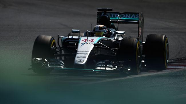 Budapest, Libere 3: Hamilton di un soffio su Rosberg